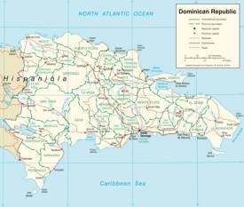 Dominican Republic Maps Maps of Dominican Republic