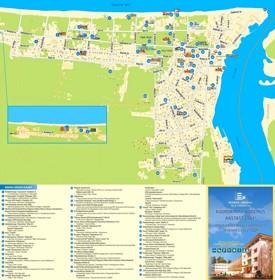 Narva-Jõesuu tourist map