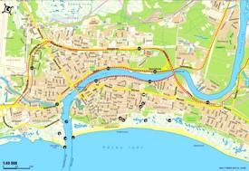 Pärnu tourist map