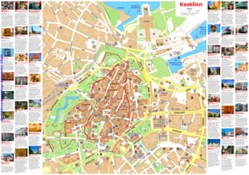 Tallinn sightseeing map