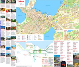 Tallinn Maps Estonia Maps of Tallinn