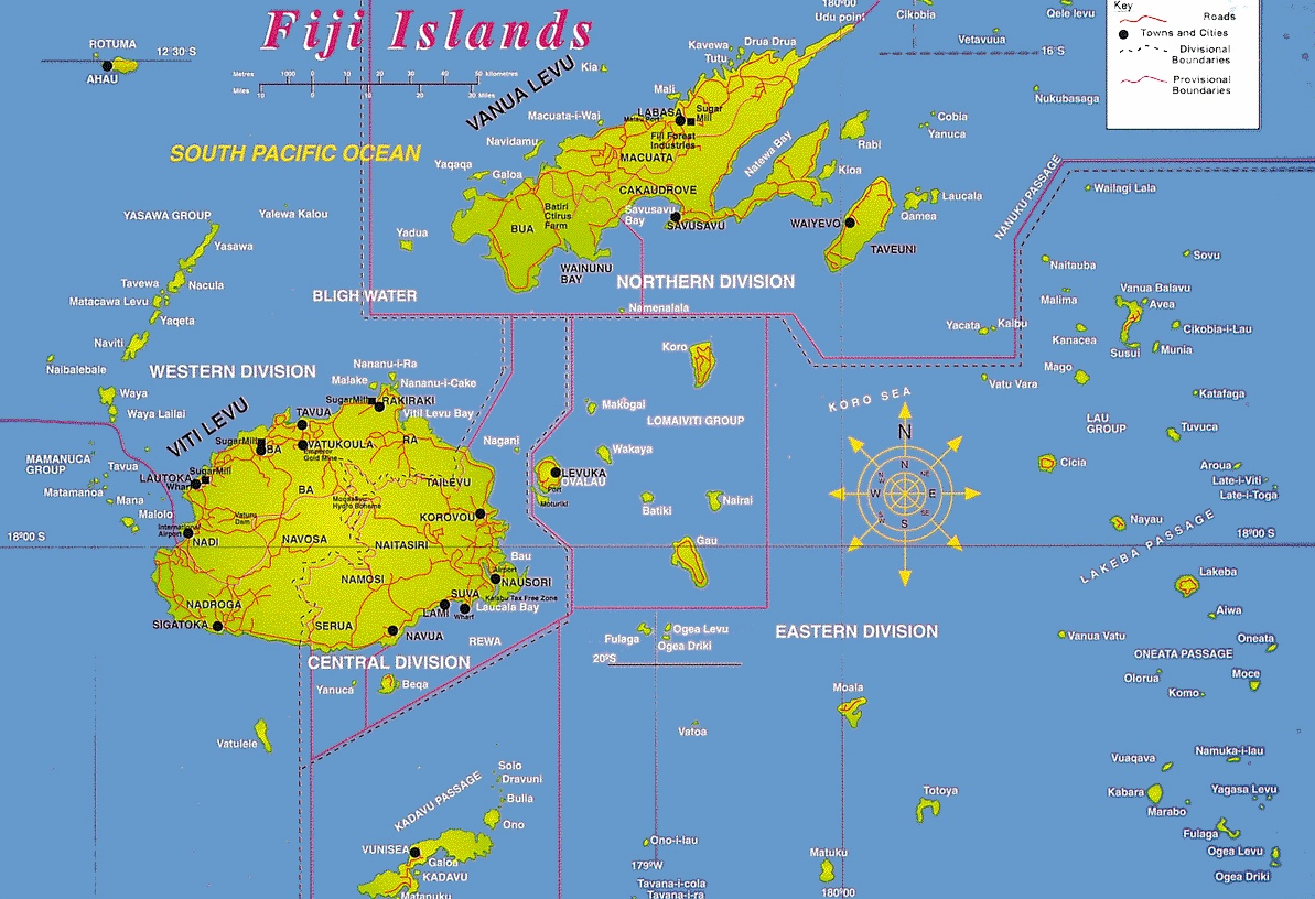 Fiji road map fiji road map gumiabroncs Gallery