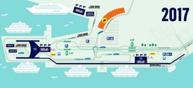 Helsinki Port map