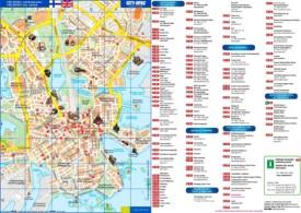 Helsinki tourist map