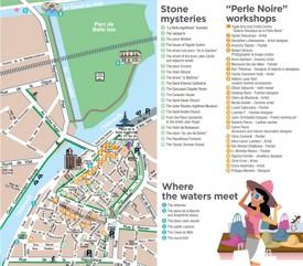 Agde city center map