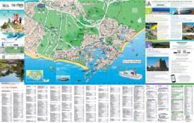 Cap d'Agde tourist map