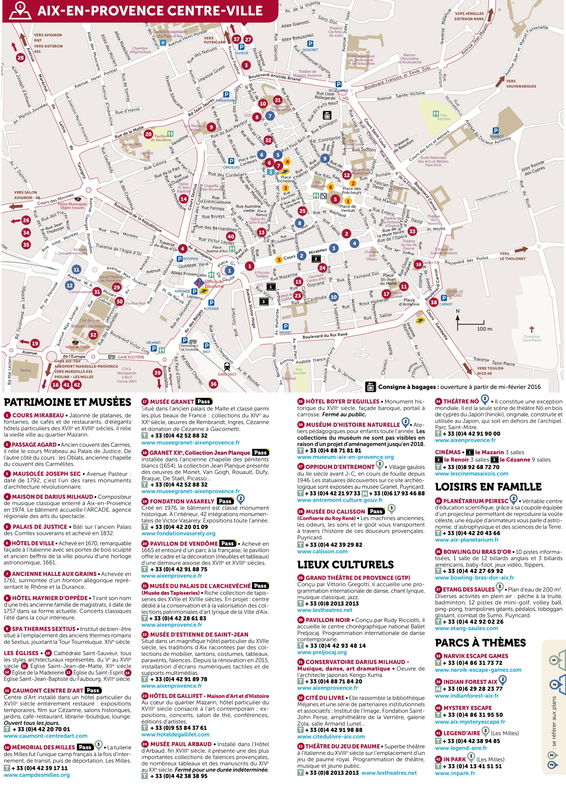 AixenProvence city center map