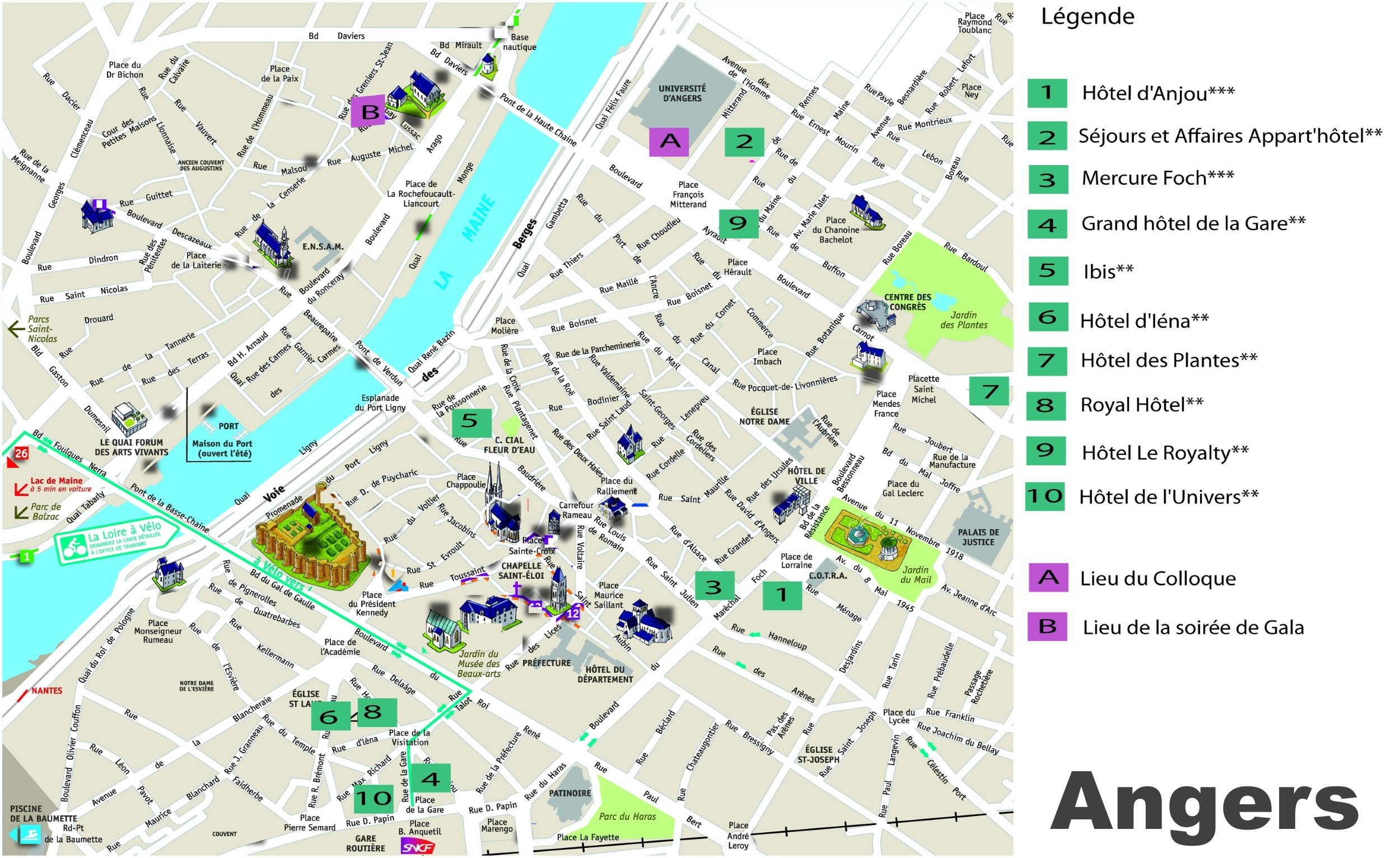 los angeles tourist map with Angers Hotel Map on Sri Lanka also Freiburg Tourist Attractions Map also Verona Tourist Attractions Map besides Trento Tourist Map together with Melbourne Zoo Map.