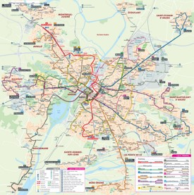 Angers transport map