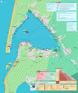 Arcachon Bay Bike Map