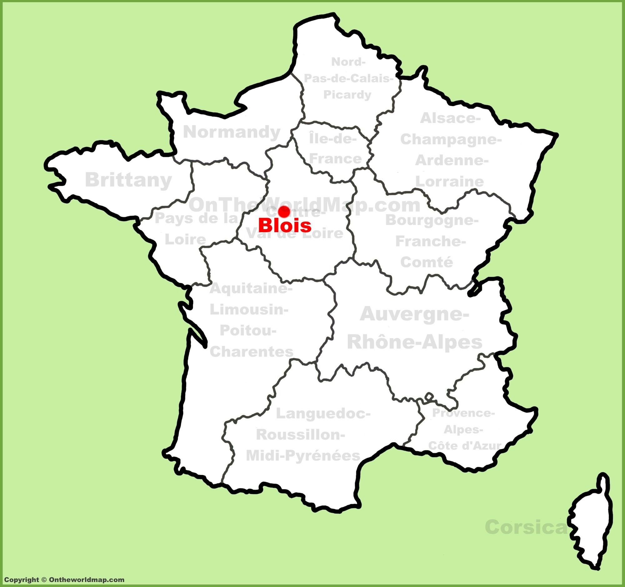 Blois Maps | France | Maps of Blois