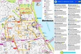 Bordeaux UNESCO Map
