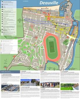 Deauville Tourist Map