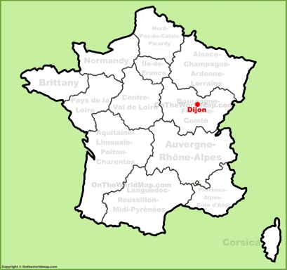 Dijon Maps | France | Maps of Dijon