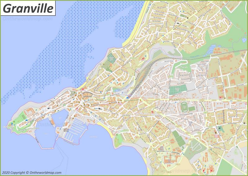 Map of Granville