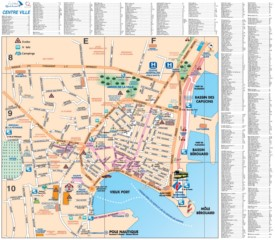 La Ciotat city center map