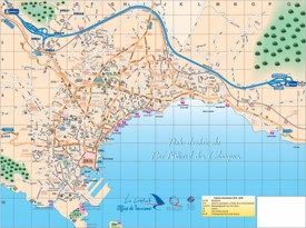 La Ciotat tourist map