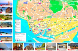 Le Havre sightseeing map