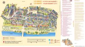 Le Mans Tourist Map
