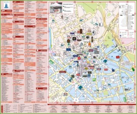Lille shopping map