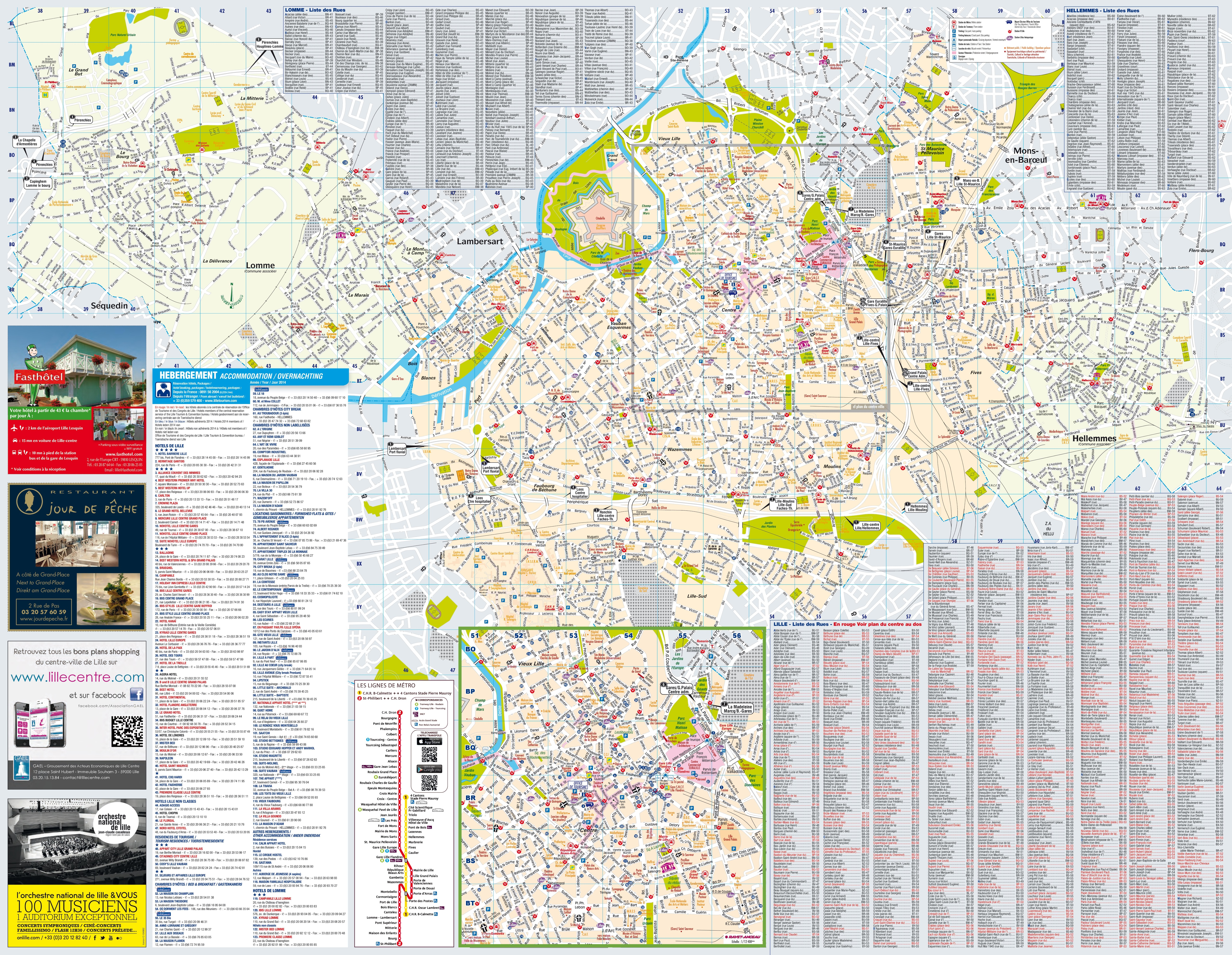 Lille Maps France Maps of Lille