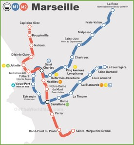 Marseille Maps France Maps of Marseille
