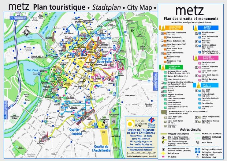 metz tourist map