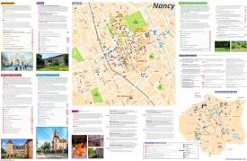 Nancy Tourist Attractions Map