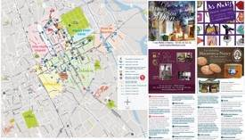 Nancy tourist map