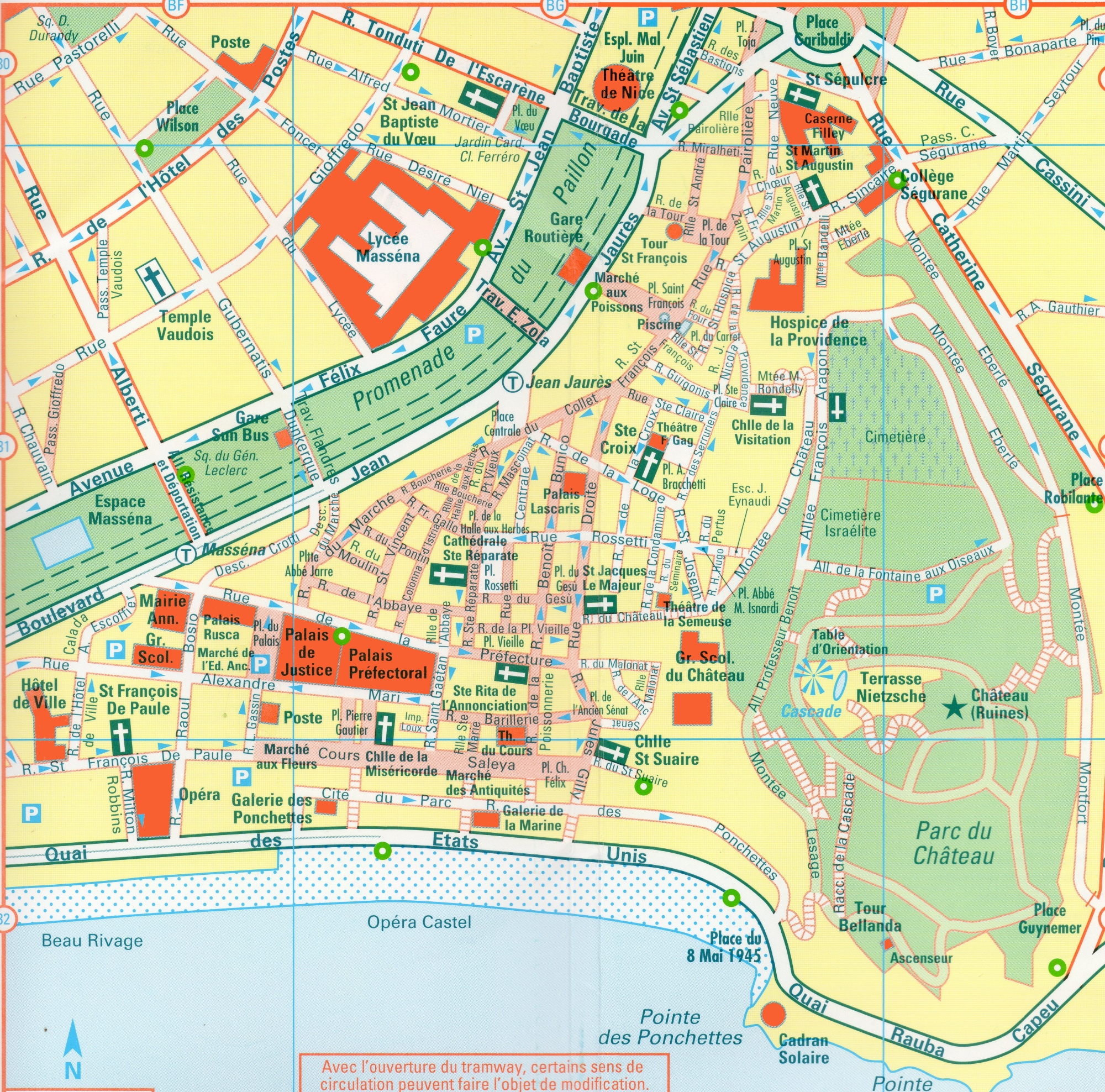 Old Town Nice France Map – Tourist Map Of Nice France