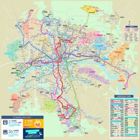 Orléans transport map