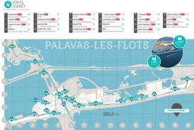 Palavas-les-Flots bus map