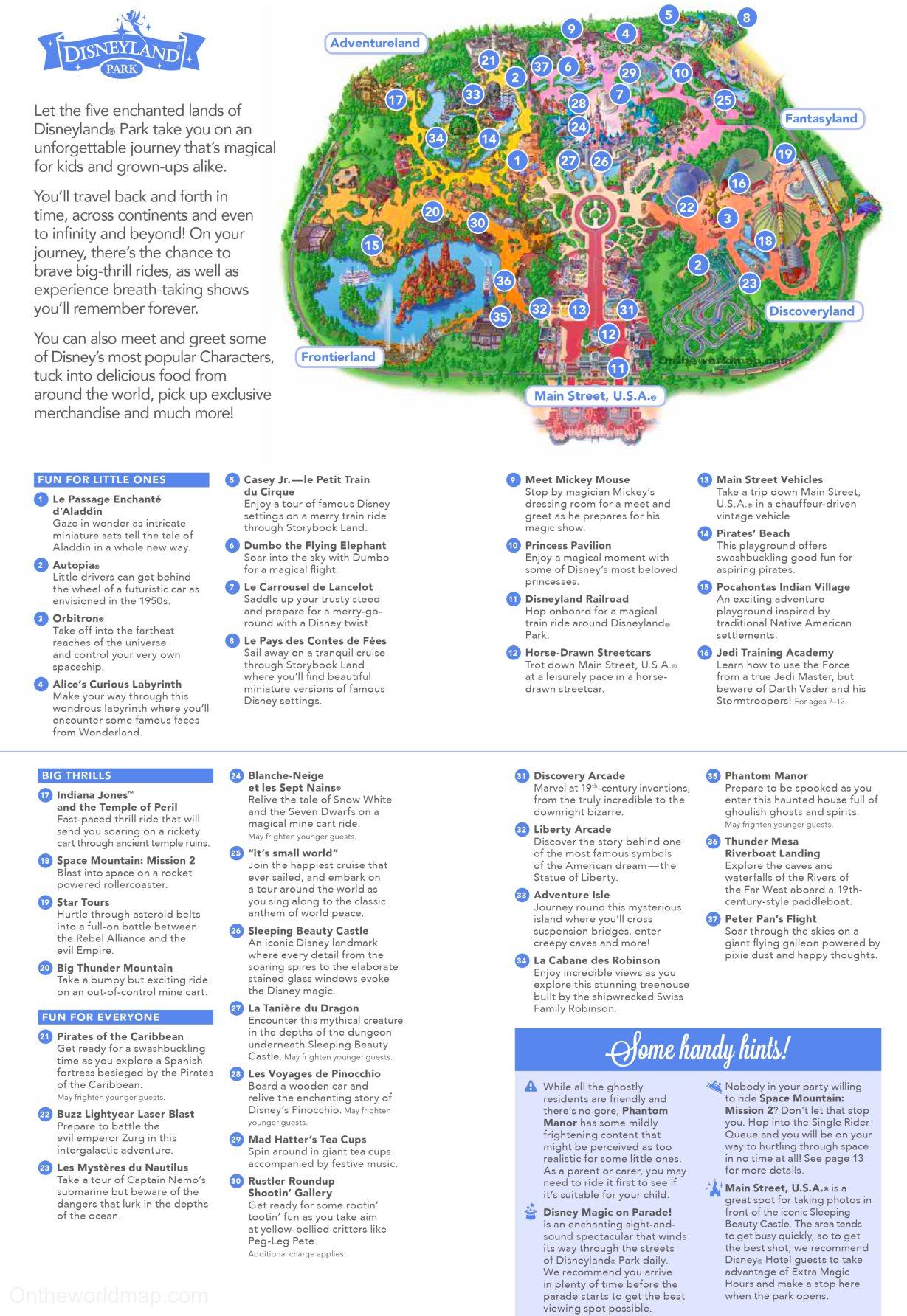 Disneyland Paris Karte 2018.Map Of Disneyland Paris