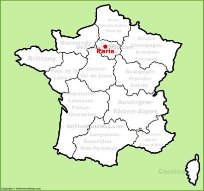 Paris On Map Paris Maps | France | Maps of Paris