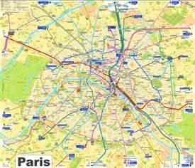 Paris Maps | France | Maps of Paris