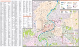 Poitiers tourist map
