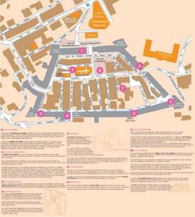 Porto-Vecchio citadel map