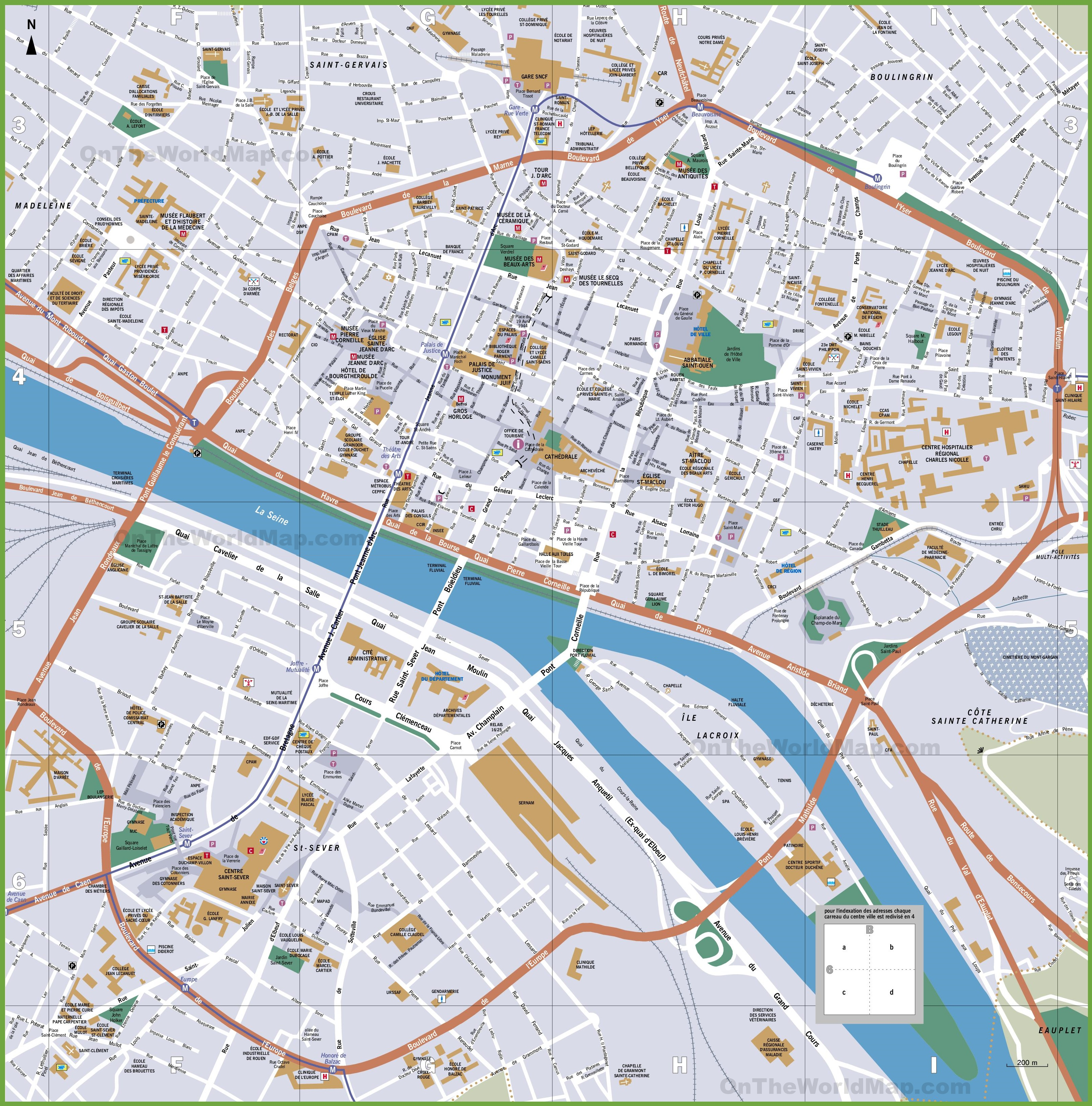 map of rome attractions with Rouen Tourist Map on Location in addition Uppsala Sweden Map moreover Catania furthermore Caen City Center Map furthermore Shekou Sea World Shenzhen.