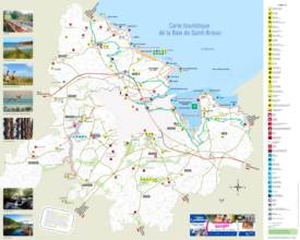 Bay of Saint-Brieuc Tourist Map