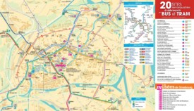 Strasbourg transport map