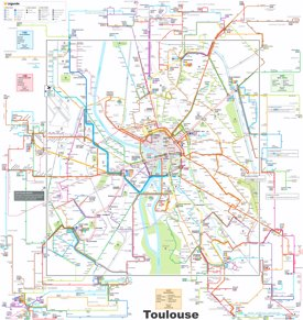 Toulouse transport map