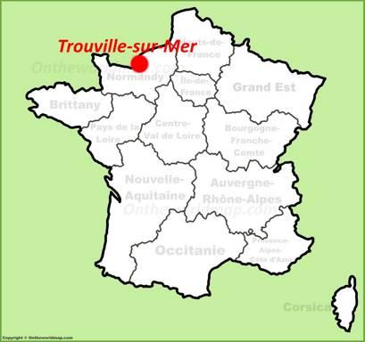 Trouville-sur-Mer Location Map