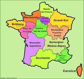 France regions map (new)