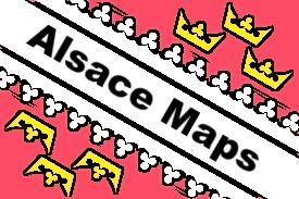 Alsace maps