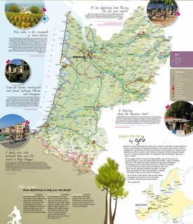 Aquitaine Maps France Maps of Aquitaine