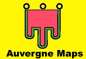 Auvergne maps