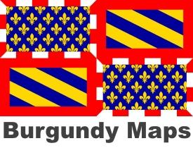 Burgundy maps