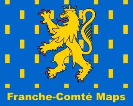 Franche-Comté maps