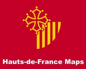 Languedoc-Roussillon maps