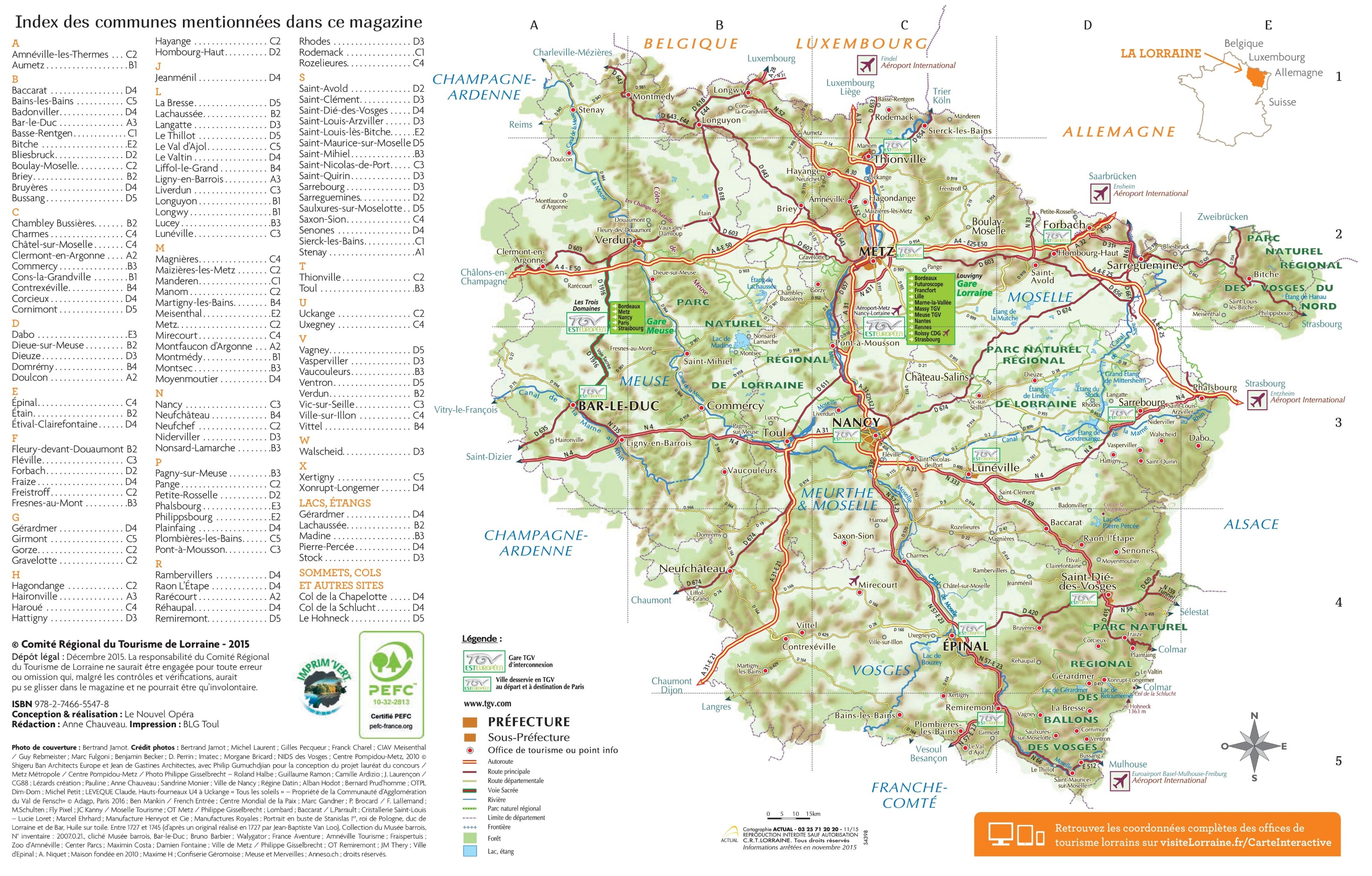 Lorraine road map